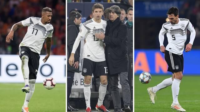 Löw prelomio: Boateng, Muller i Hummels neće igrati za 'elf'