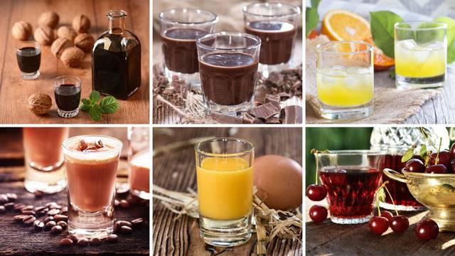 Recepti za 11 domaćih likera iz 1964. godine: Od oraha, kave, čokolade, jaja, vina, naranče...