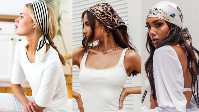 Marama za kosu podiže styling