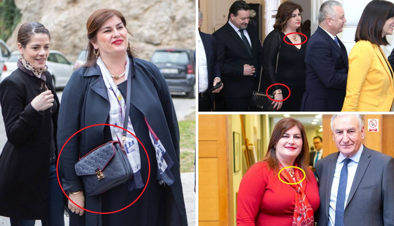 Žalac nosi Louis Vuitton, a ne štedi niti na luksuznom nakitu