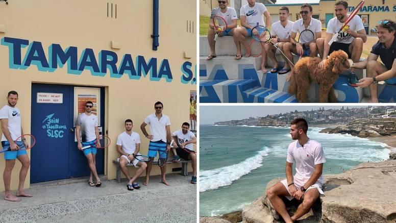 Hrvatski tenisači na plaži uoči prvog ATP turnira u novoj '20.