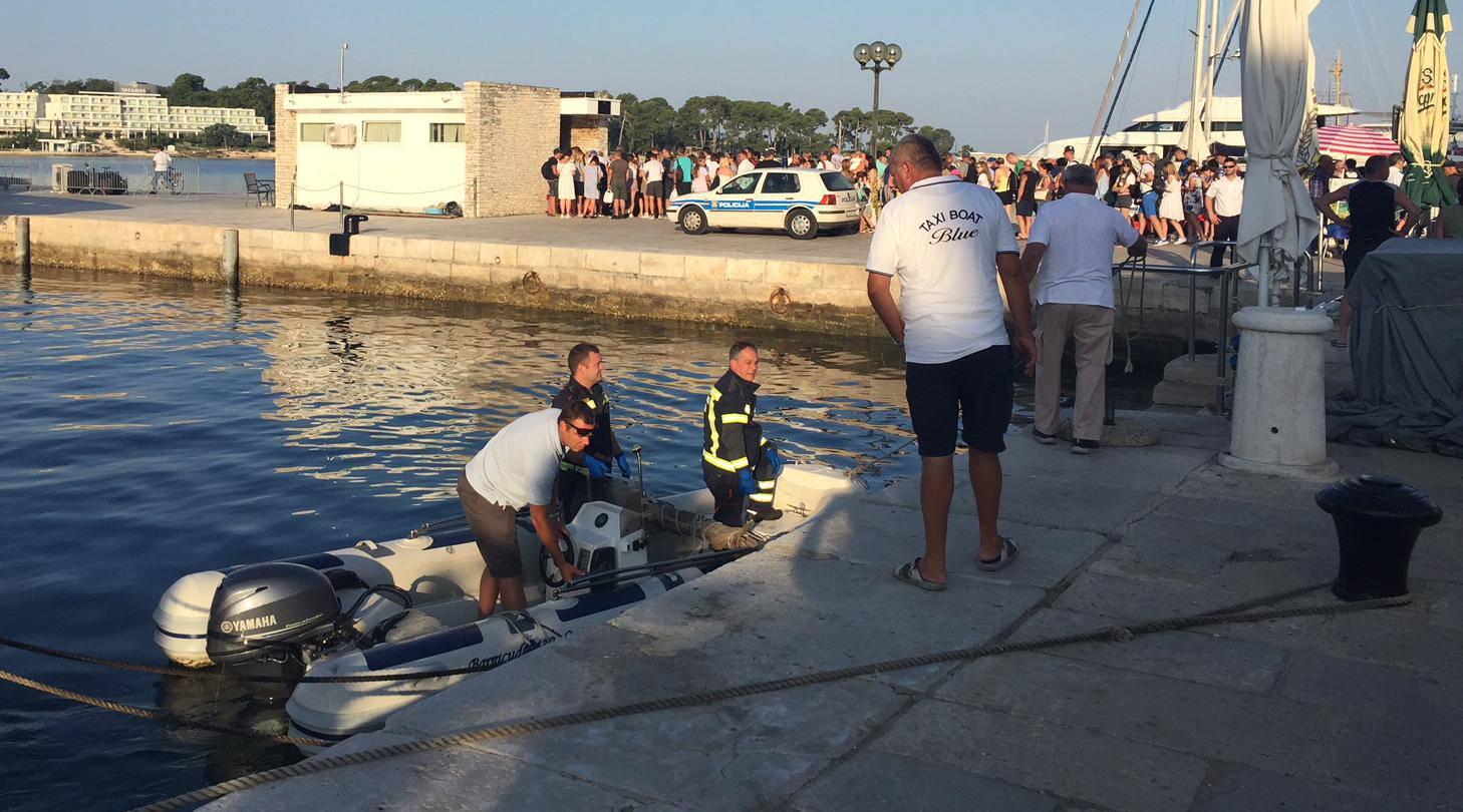 Stariji muškarac pao je s broda u porečkoj marini i umro
