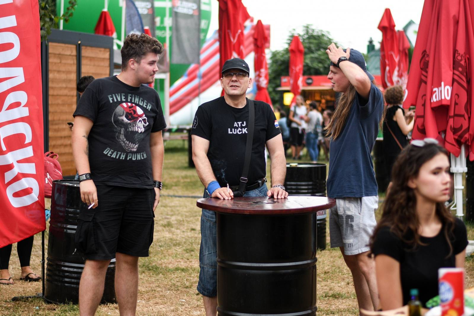 Zagreb: Koncert grupe Cold Shower na Chill & Grill festivalu
