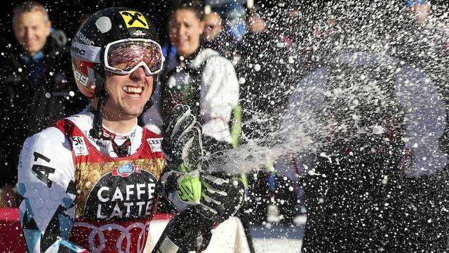 Alpine Skiing - FIS Alpine Skiing World Cup - Men's Giant Slalom 2nd run