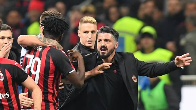 Serie A - AC Milan v Lazio