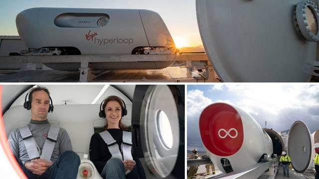 Prijevoz budućnosti: Prvi ljudi provozali su se u Hyperloopu
