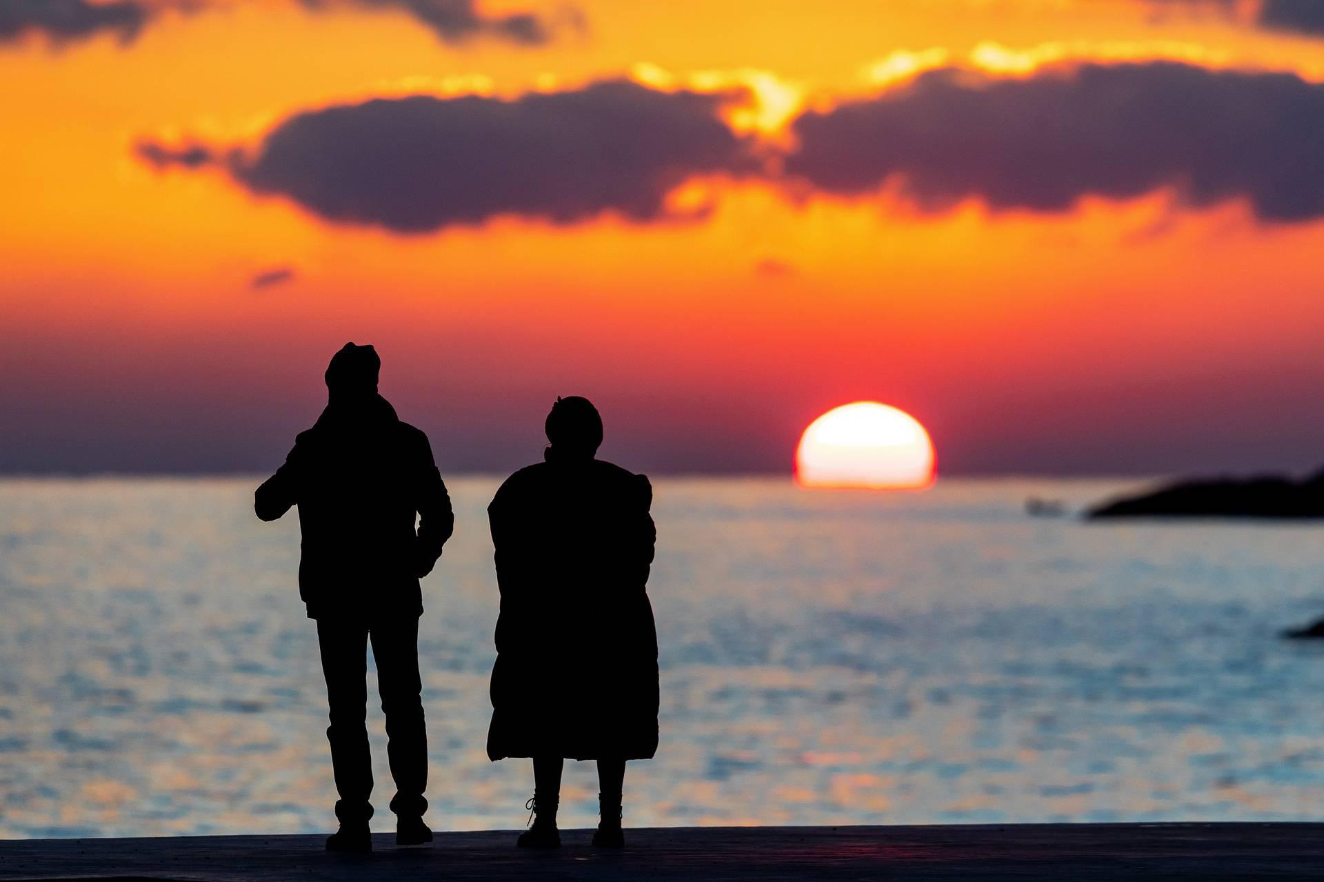Sunce ispred Pule utonulo u more