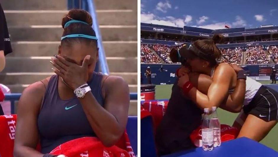 Serena u suzama predala finale Toronta, Kanada slavi Biancu