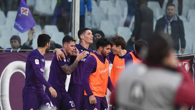 Italian TIM Cup Championship  Round of 16 - ACF Fiorentina vs Atalanta
