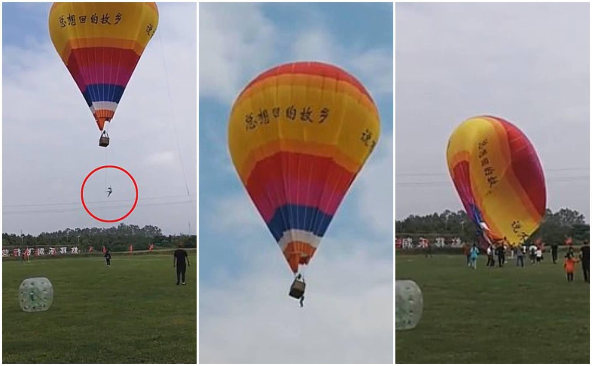 Visio s balona na zrak i pao 100 m u smrt: 'Bio mu je prvi dan na poslu, očito nije slušao upute'