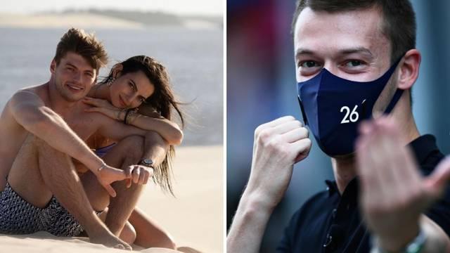 Nova Verstappenova djevojka već ima iskustva s F1 vozačima