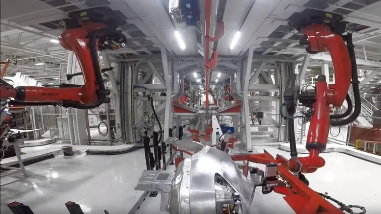Teslina simfonija: Pogledajte kako se sastavlja novi Model X