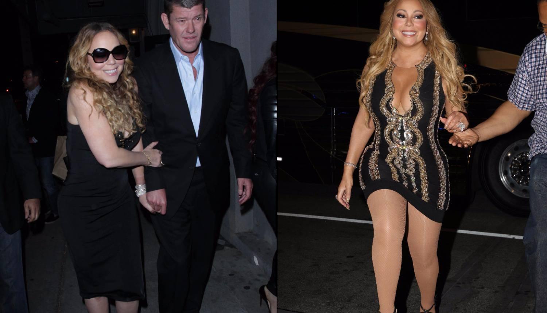 Mariah i Packer nakon razlaza prestali su paziti na kilograme