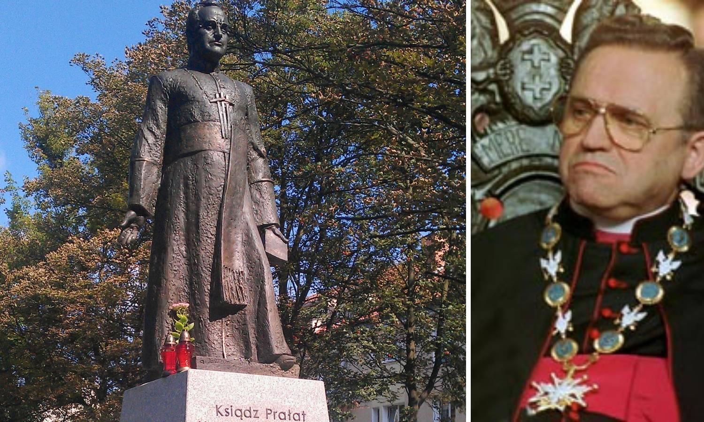 Srušili kip svećenika optuženog za spolno zlostavljanje djece
