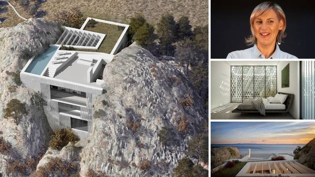 Vila Kuk kao čudo arhitekture: Uronjena je u dalmatinski krš