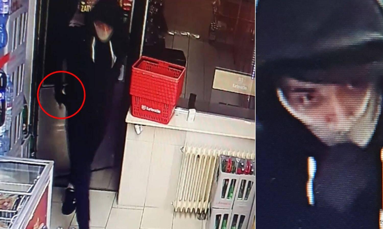 Ekskluzivna snimka: Izvadio je pištolj i rekao 'daj sve iz kase'