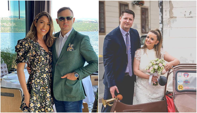 Hadžiavdagić ignorirala svadbu šogorice: S mužem Tarikom se brčkala i pila šampanjac u Zadru