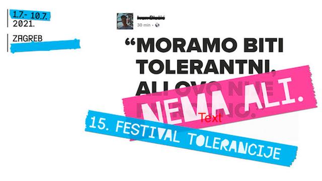 15.  godina zagovaramo toleranciju, ali moramo biti ustrajni i dalje