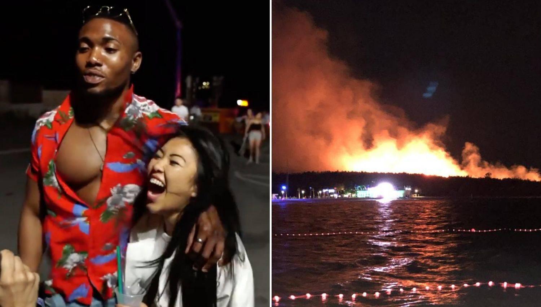 Noć s partijanerima sa Zrća: 'Hmm, gdje je požar, ne vidimo'
