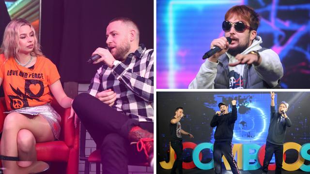 Počelo je super finale Rap Camp showa: 'Čudno je nastupati bez live publike, ali zabavljamo se!'