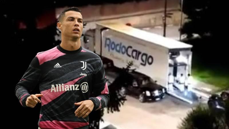 Najavio je odlazak? Ronaldo premješta automobile iz Torina