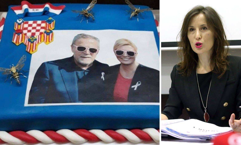 'Je li predsjednica Bandićevu tortu platila našim novcem?'