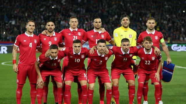 FILE PHOTO: 2018 World Cup Qualifications - Europe - Serbia vs Georgia