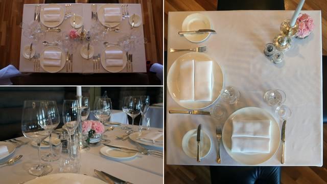 Naučite profesionalno postaviti stol - nije isto za ručak ili večeru