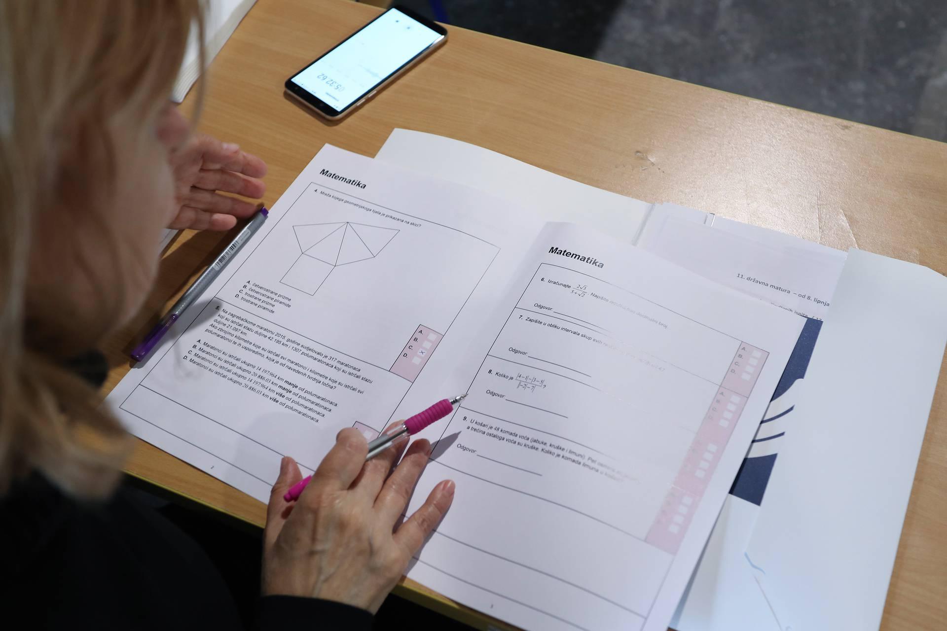Maturanti, pažljivo na maturi: Dio zadataka nećete morati rješavati iako su u testovima