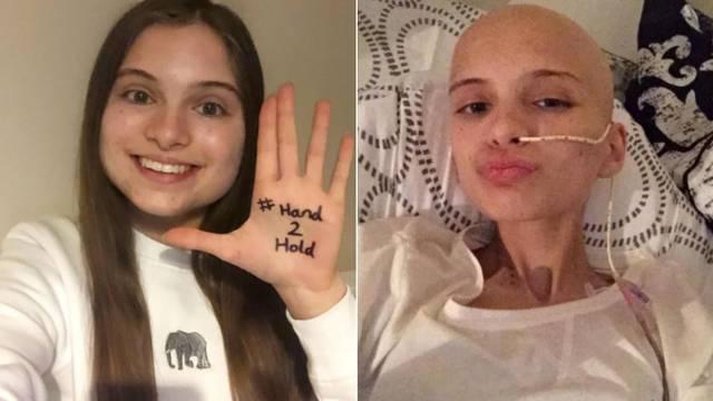 Zbog raka je ušla u menopauzu s 15 i morala je otići iz škole na godinu dana - pobijedila je!