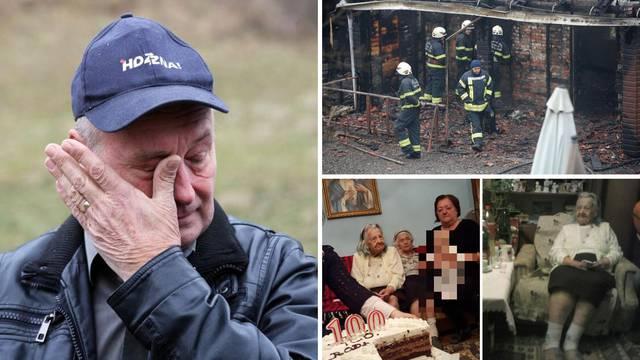 Jelena (103) izgorjela u Domu: 'U ratu je izgubila muža i sina'