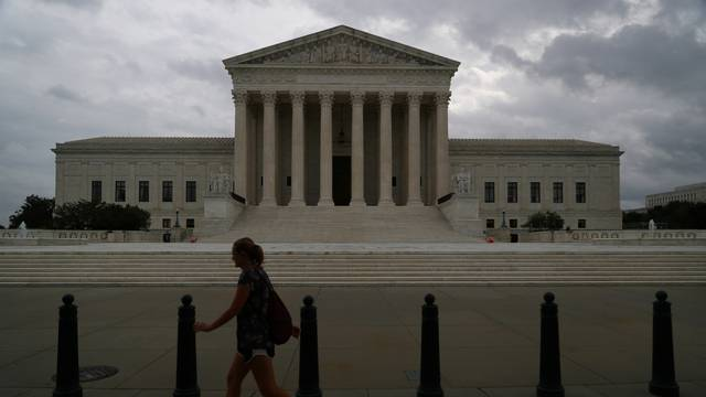 The U.S. Supreme Court following an abortion ruling by the Texas legislature
