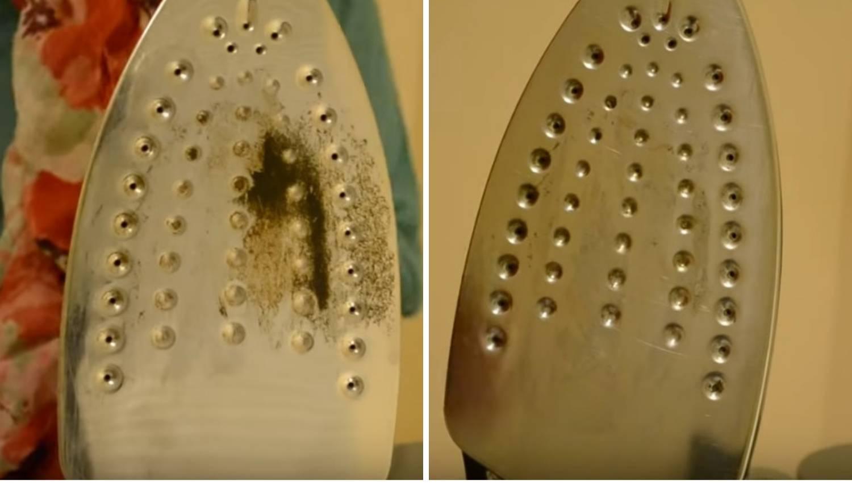 Fantastičan trik za brzinsko čišćenje zalijepljenog dna pegle