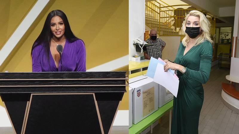 Fani Kerum na izbore nosila istu haljinu kao i Vanessa Bryant tu večer – košta gotovo 11.000 kn