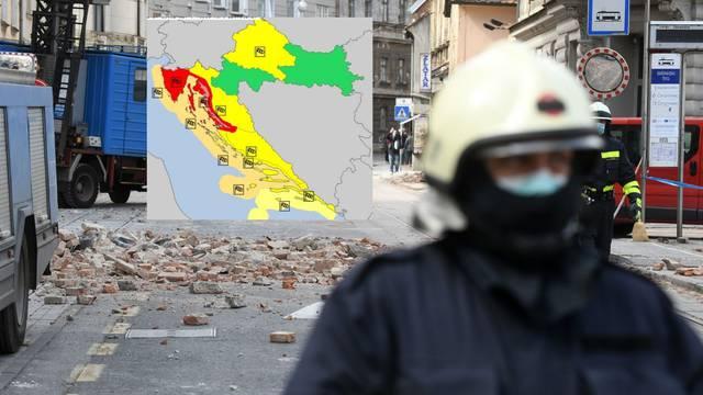 Nakon potresa, stiže jak vjetar: Meteoalarm upozorava Zagreb