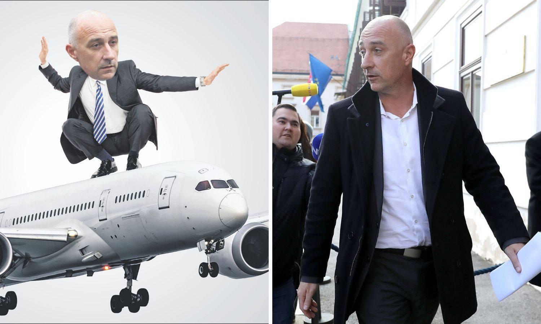 Nos za biznis šefa HNS-a: Ako ti otkažu let, zovi Vrdoljaka...