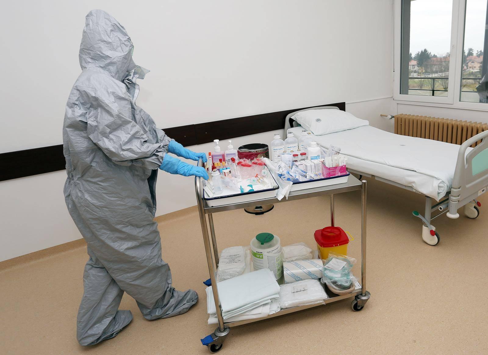 U Općoj bolnici Karlovac pripremljeno mjesto za izolaciju oboljelih od koronavirusa