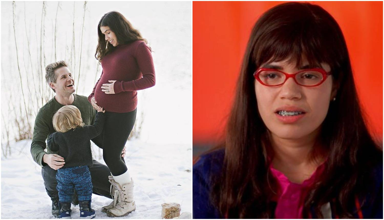 'Ružna Betty' se pohvalila, s glumcem očekuje drugo dijete