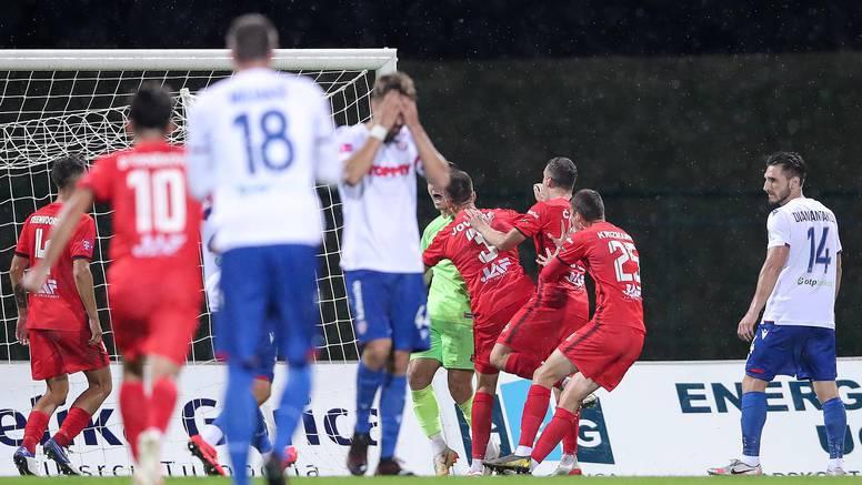 Hajduk  ispao iz Konferencijske lige! Sahiti je samo  nakratko odgodio novu blamažu 'bilih'