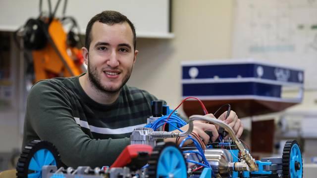 Hrvatska inovacija: Novo zlato vozilu na pneumatske mišiće