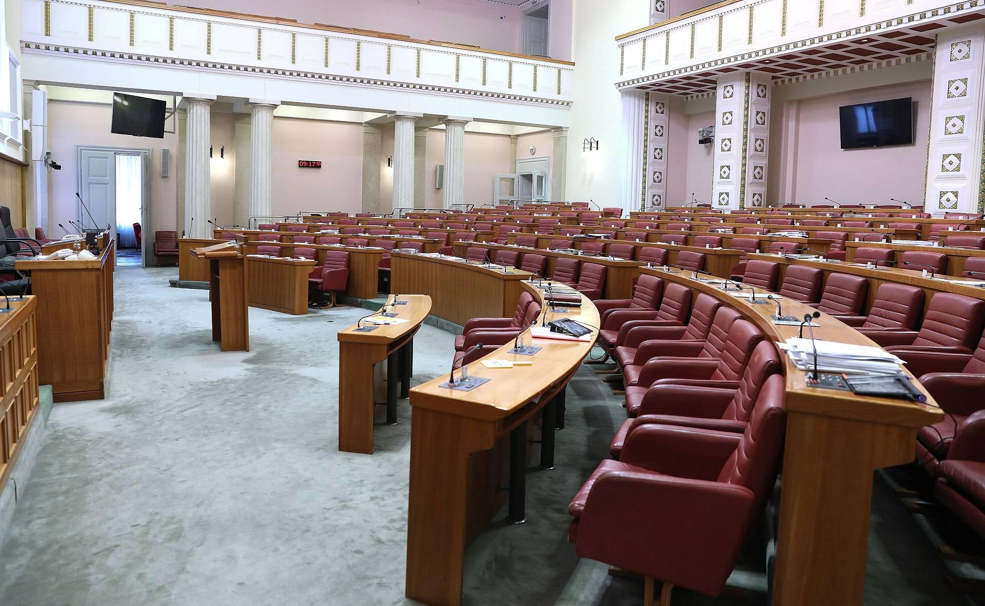 Zagreb: Sabornica ostaje prazna na dva mjeseca