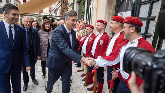 Svečana sjednica grada Dubrovnika povodom dana grada, blagdana svetog Vlaha