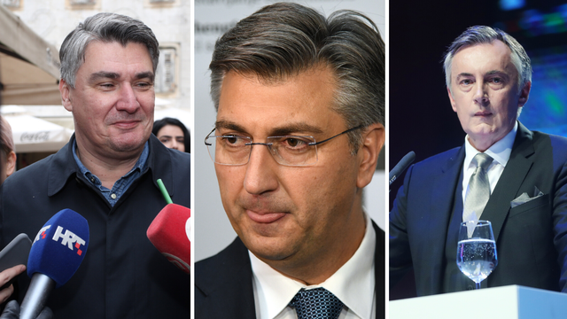 Plenković: 'Glas za Škoru, glas je za Milanovića, a ne za HDZ'