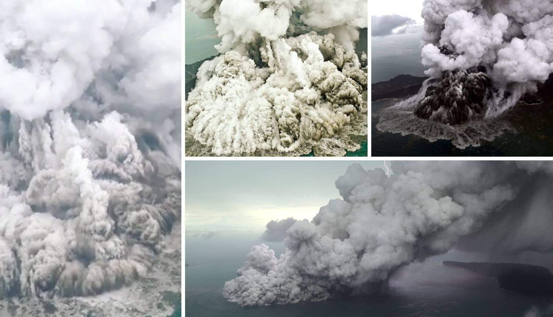 Vulkan skoro nestao u erupciji! Smanjio se za čak dvije trećine