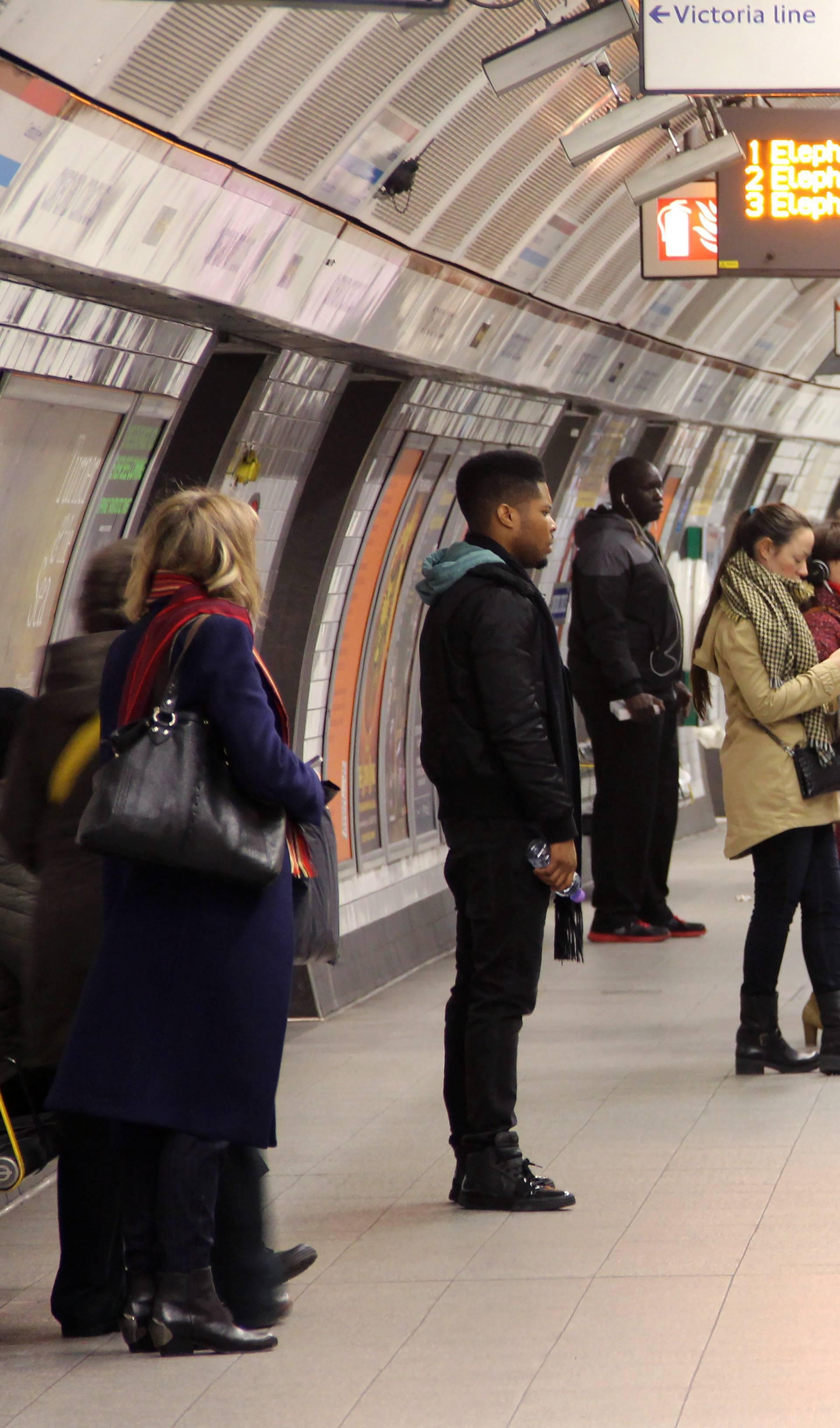 London: Underground station