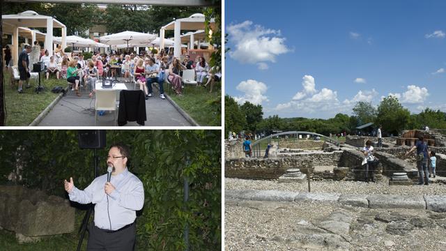 Počeli Europski dani arheologije u Ščitarjevu, Lapidariju,  Galeriji AMZ i na zagrebačkom Kaptolu