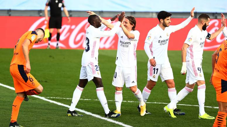 Real opet niže pobjede: Modrić je briljantan, iskreirao je gol