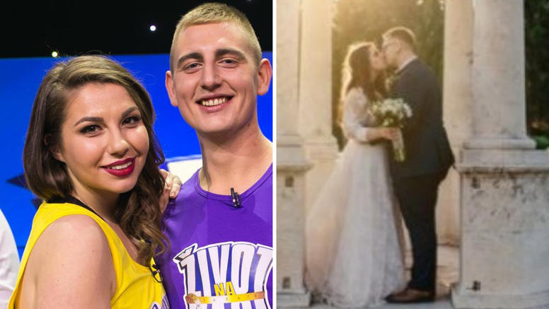 U Splitu su se vjenčali Dorian i Ivana, zvijezde 'Života na vagi'