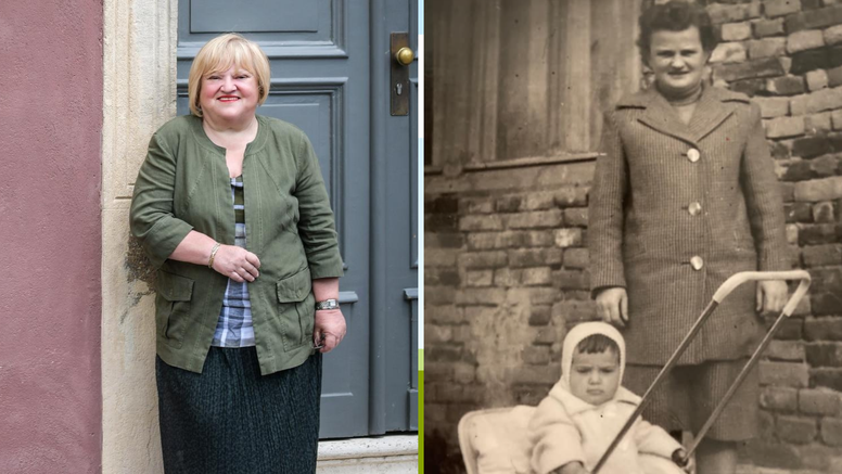 Anka Mrak Taritaš i mama: 'Mi u šetnji jedne davne godine'