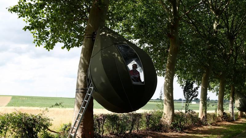 Neobični šatori: Objese se za stablo i lagano vas ljuljuškaju